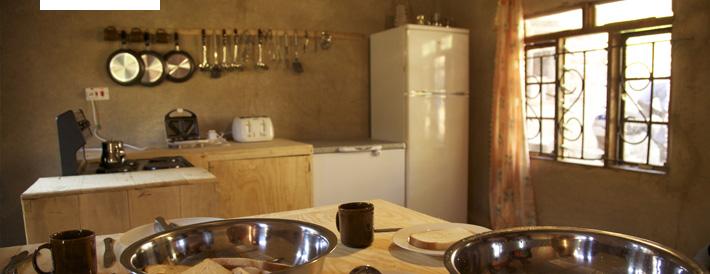 Unser erstes Projekt: die Mzimo Cookery School, in der nun auf einem höheren Niveau ausgebildet wird.